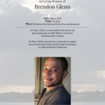 Brendon Glenn Flyer vigil