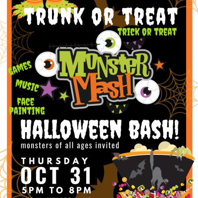 Trunk or treat with us on Thursday, October 31st from 5:00pm-8:00pm at the corner of canal street (200 N Venice Blvd. Los Angeles, CA 90291)